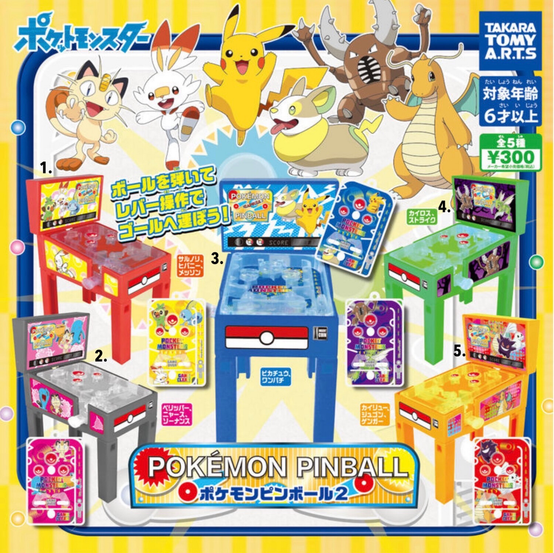 Takara Tomy Pokemon Pinball Miniature Gashapon