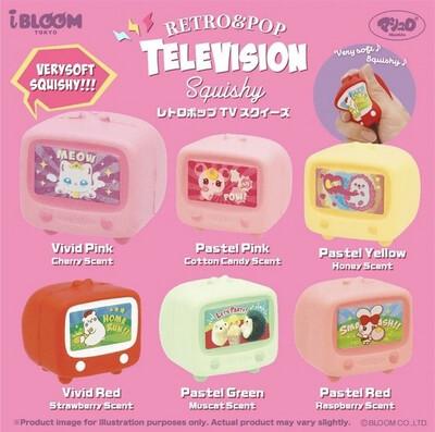 iBloom Mini Retro & Pop Television Squishy