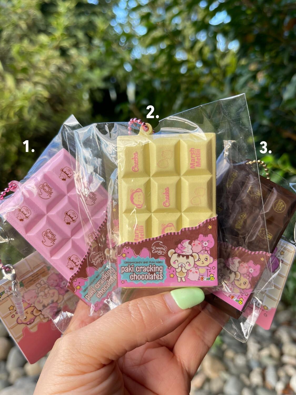Creamiicandy Yummiibear Mini Chocolate Bar Squishy Toy
