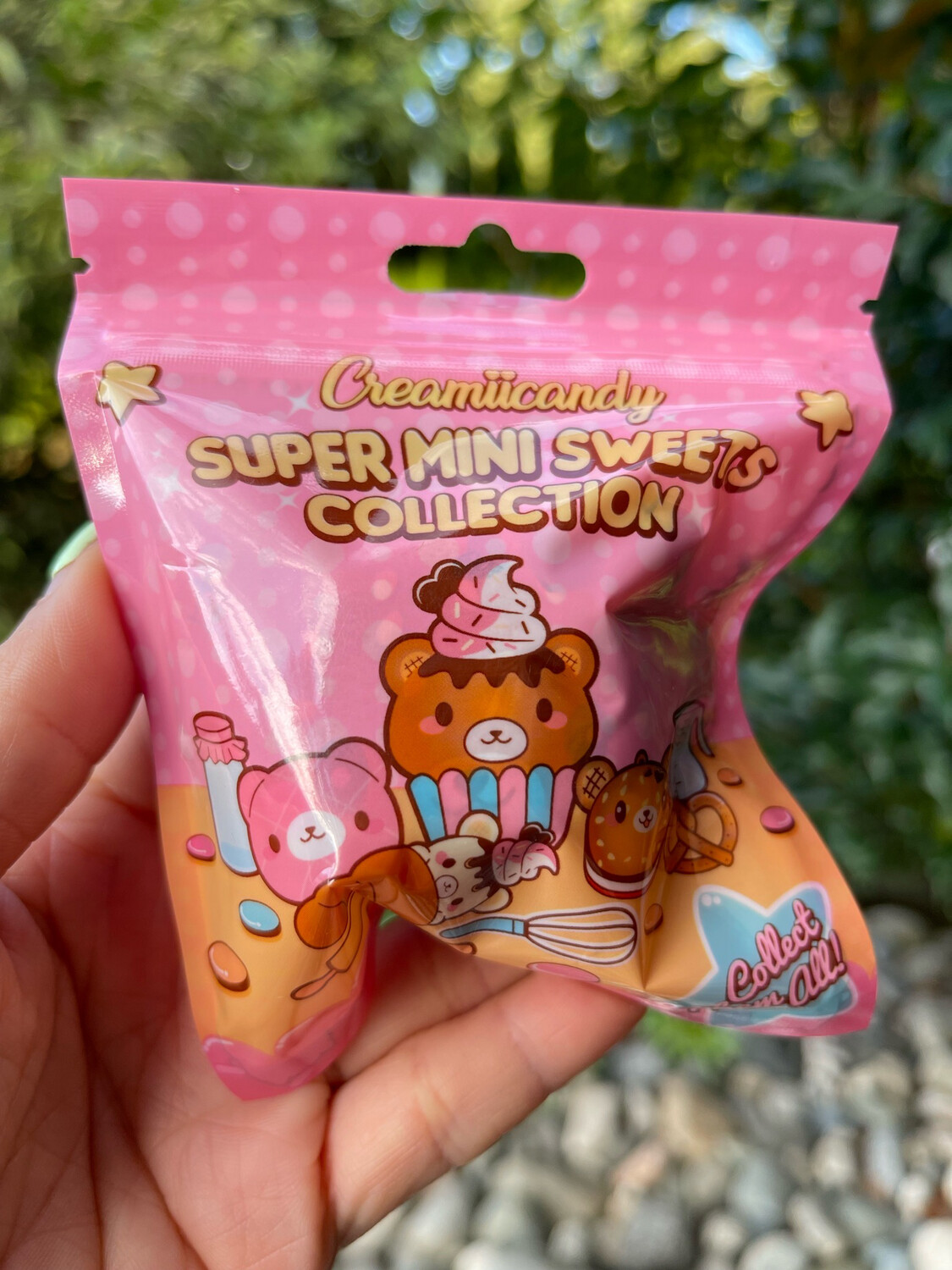 Creamiicandy Yummiibear Super Mini Sweets Collection Blind Bag Squishy Toy