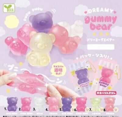 Yell Dreamy Gummy Bear Squishy Gashapon