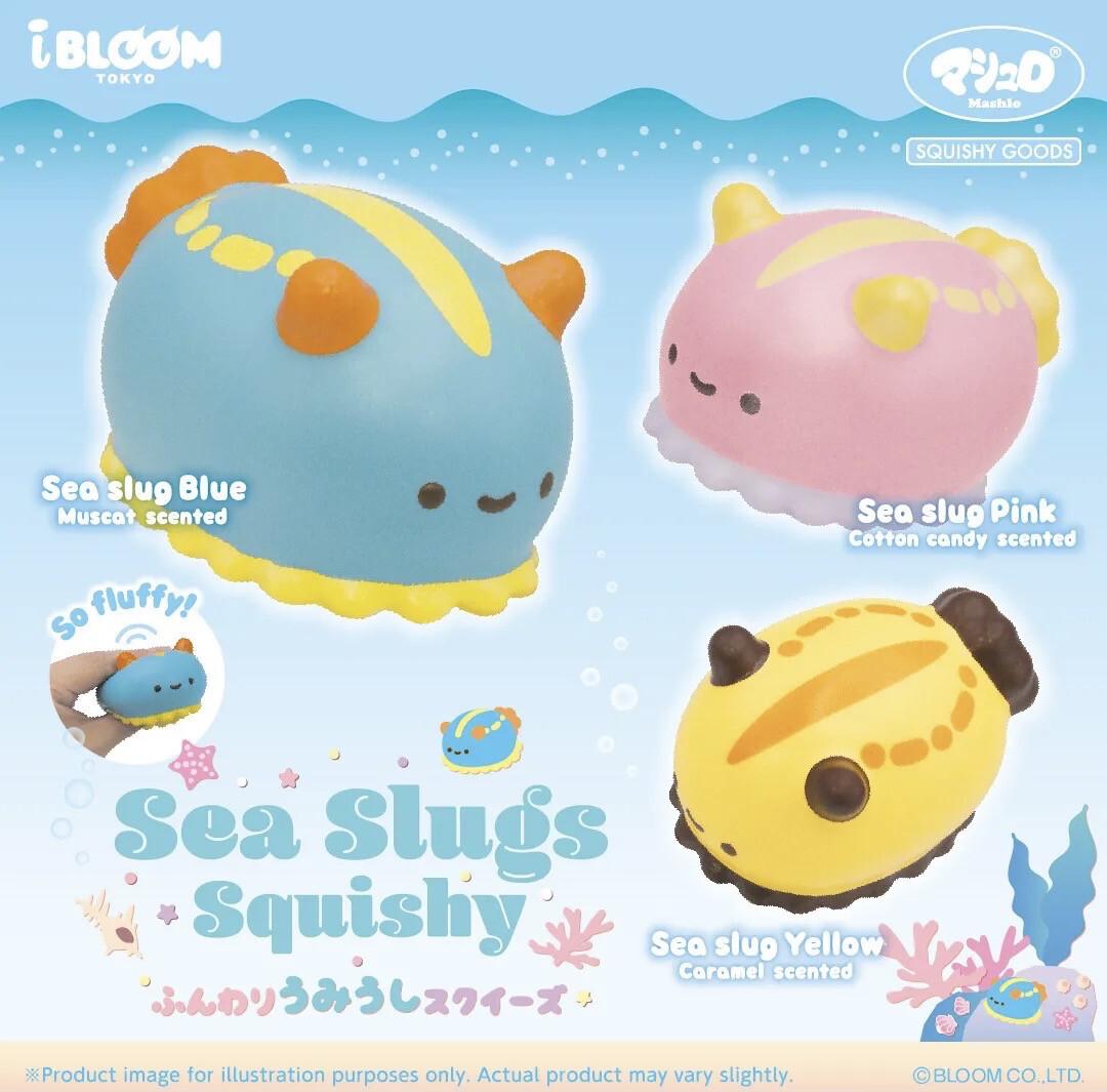 iBloom Sea Slugs Squishy