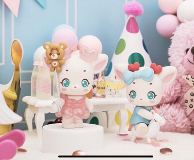Almond the Deer Happy Party Figure Blind Box