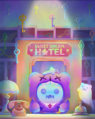 Shinwoo X F.UN Sweet Dream Hotel Ghosties