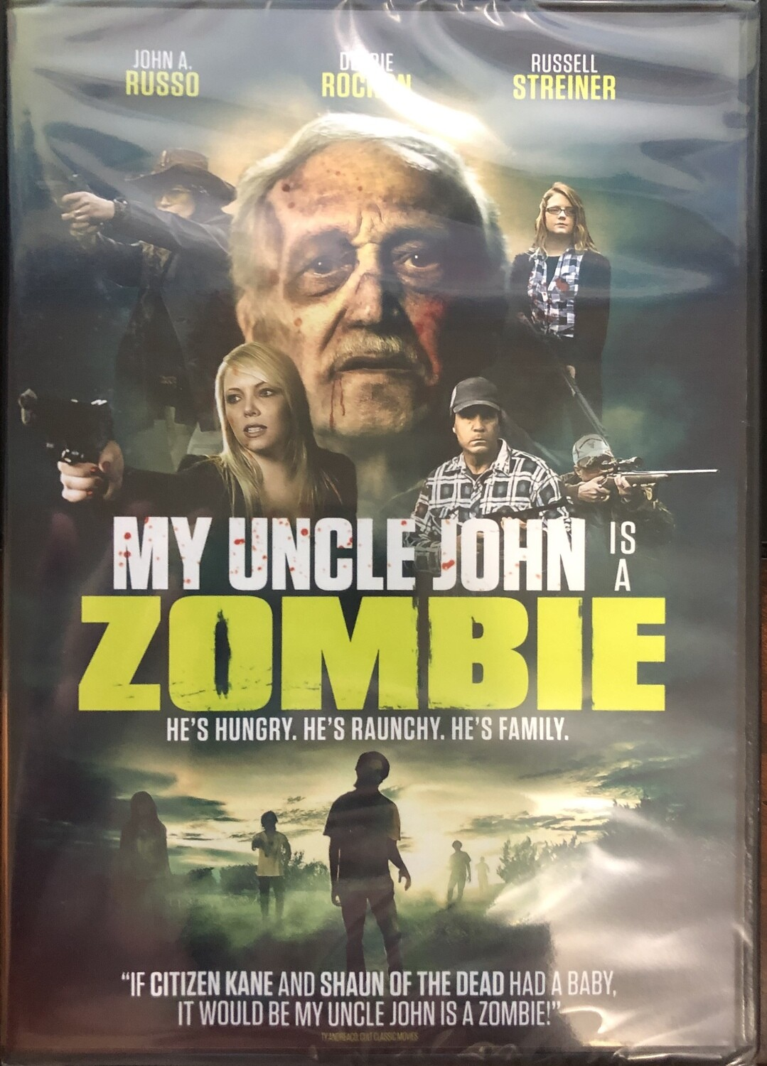 My Uncle John is a Zombie DVD (ITN Official Release)