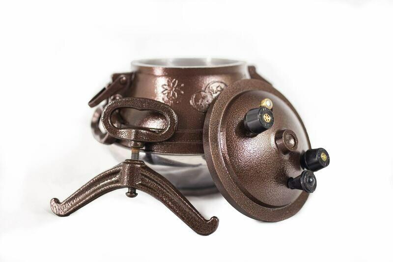 Afghan pressure cooker M5- Capacity 5.2-quart (4.9 liter)
