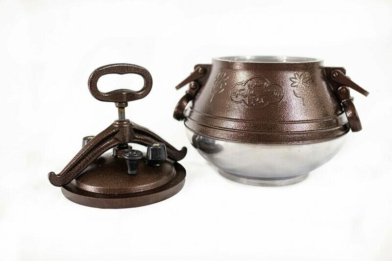 Afghan pressure cooker M15 - Capacity 12.3-quart (11.7 liter)