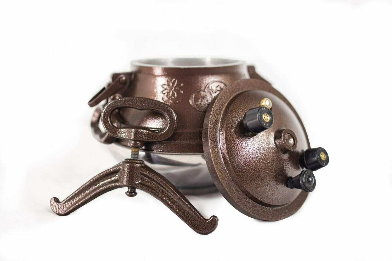 AFGHAN PRESSURE COOKER MODEL M 9 qt./8.5 liter capacity