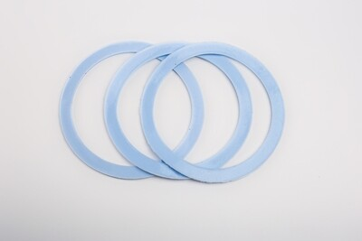 2 x Replacement silicone gaskets for SB, NR and M 4.8qt - 4.9qt.  Afghan pressure cooker only