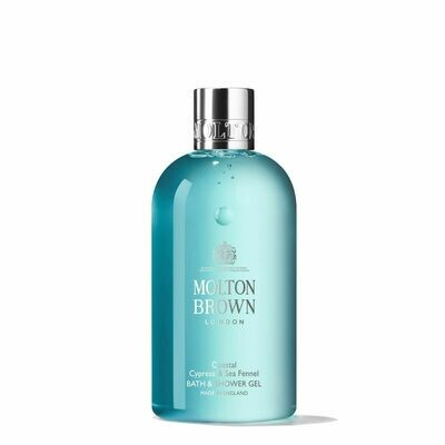 Molton Brown Coastal Cypress & Sea Fennel Bath & Shower Gel 300ml