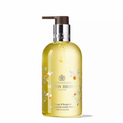 Molton Brown Limited Edition Orange & Bergamot Fine Liquid Hand Wash 300ml