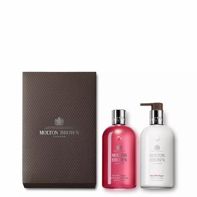 Molton Brown Fiery Pink Pepper Shower Gel & Lotion Gift Set