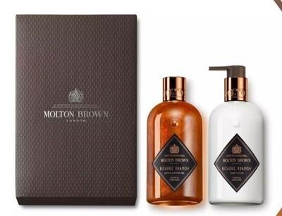 Molton Brown Bizarre Brandy Shower Gel & Lotion Gift Set