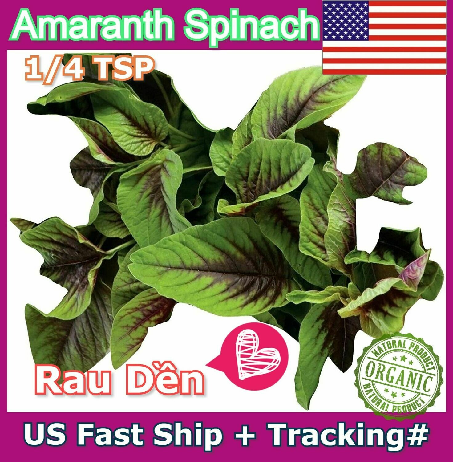 Amaranth Spinach hat Rau Den