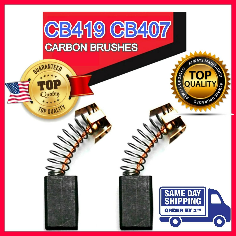 USA Motor Carbon Brushes for Makita Saw Hammer Angle Drill Series CB-419 CB-407