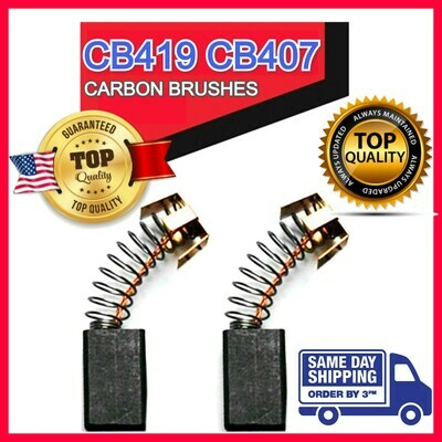 USA Motor Carbon Brushes for Makita Saw Hammer Angle Drill Series CB-419 CB-407