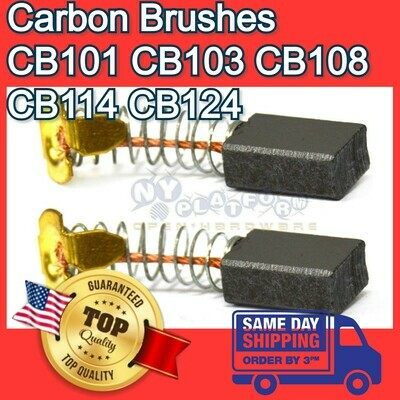 Carbon Brushes for Makita CB101 CB103 CB108 CB114 CB124 181030-1 191945-4