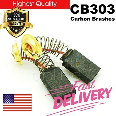 Makita 194996-6 Carbon Brush Set CB303 REPLACEMENT