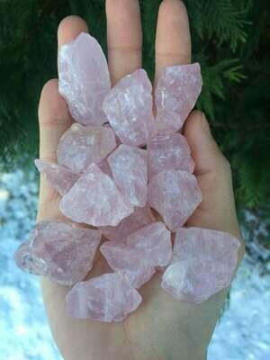 Rose Quartz Crystal chakra inner healing Gift Orb