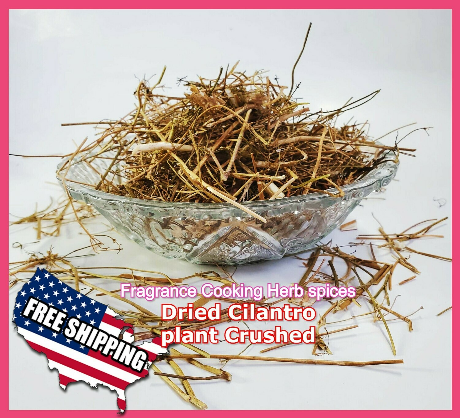 ​Dried Cilantro plant Crushed 100% Organic