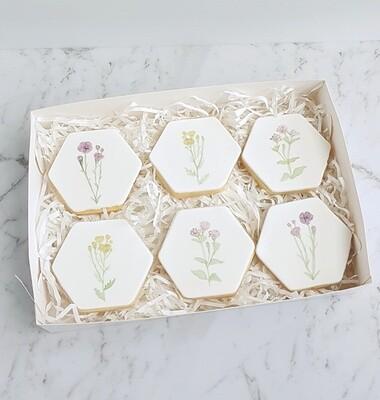Watercolour floral set