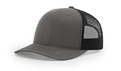 112 Split Color - Charcoal/Black