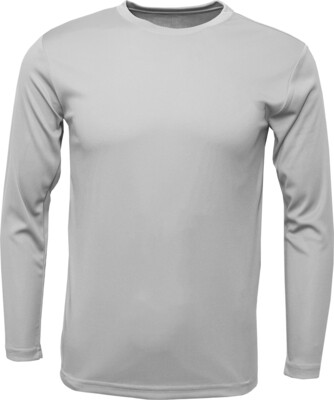 Silver / Front, Back & 1 Sleeve