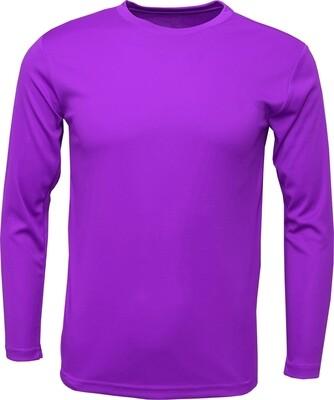 Purple / Front, Back & 1 Sleeve