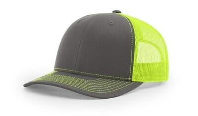 112 Split Color - Charcoal/Neon Yellow