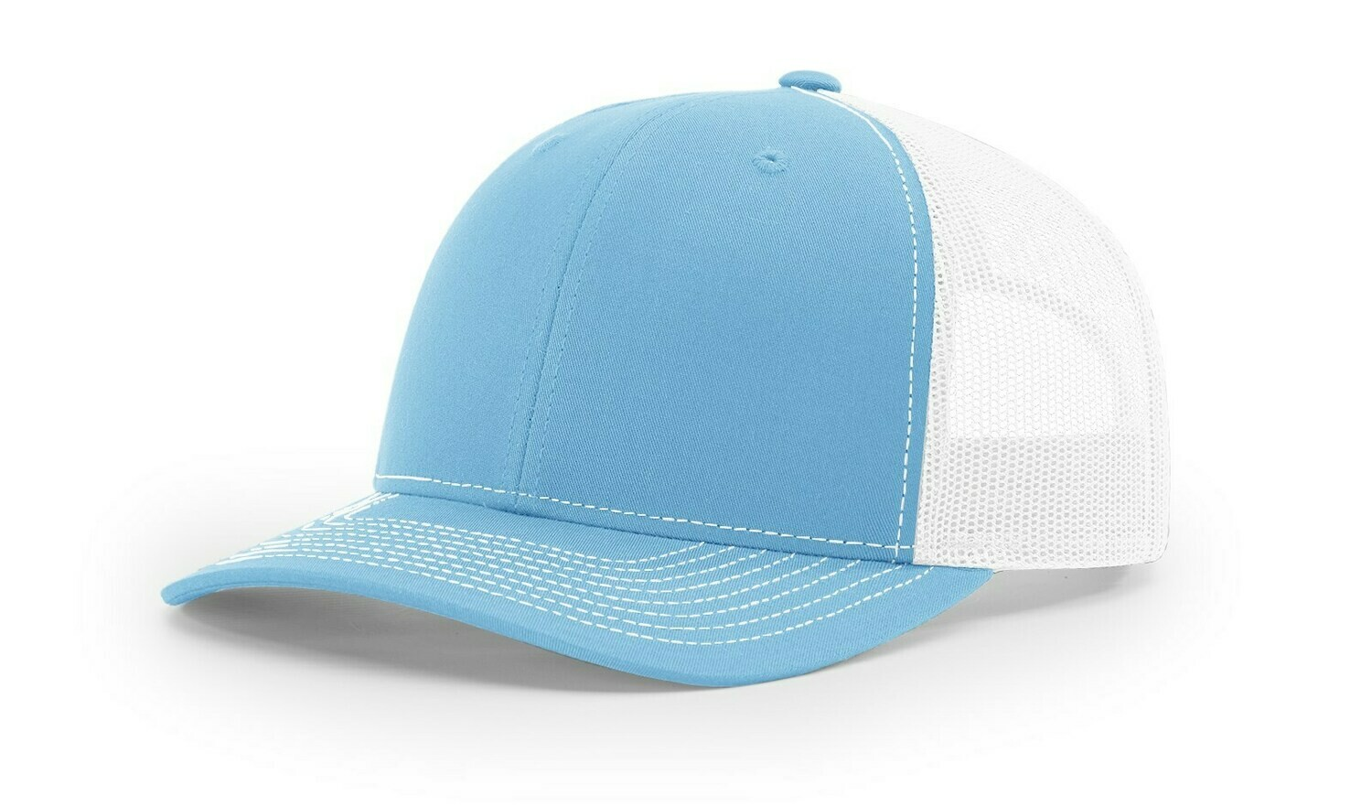 112 Split Color - Columbia Blue/White