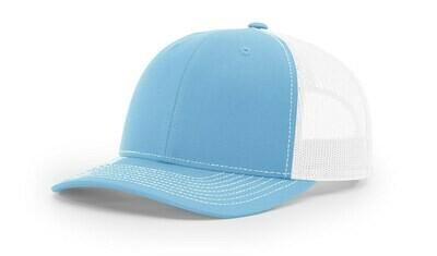 112 Split Color - Columbia Blue/White