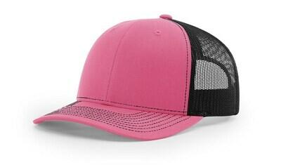 112 Split Color - Hot Pink/Black