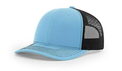 112 Split Color - Columbia Blue/Black