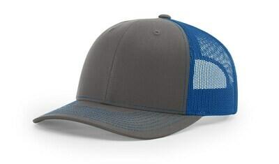 112 Split Color - Charcoal/Royal Blue