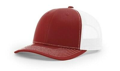 112 Split Color - Cardinal/White