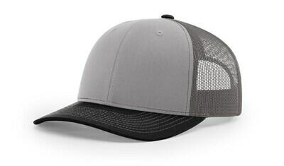 112 Tri-Colors - Grey/Charcoal/Black