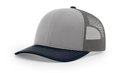 112 Tri-Colors - Grey/Charcoal/Navy