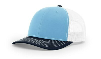 112 Tri-Colors - Columbia Blue/White/Navy