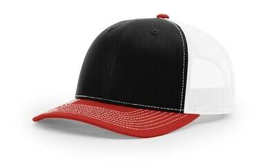 112 Tri-Colors - Black/White/Red