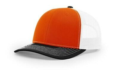 112 Tri-Colors - Orange/White/Black