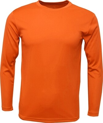 Orange / Front, Back & 1 Sleeve