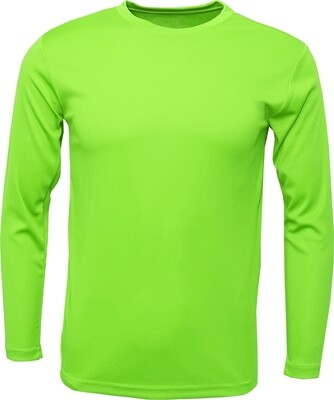 Lime / Front, Back & 1 Sleeve