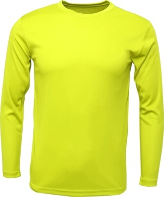 Safety Yellow  / Front, Back and 2 Sleeves