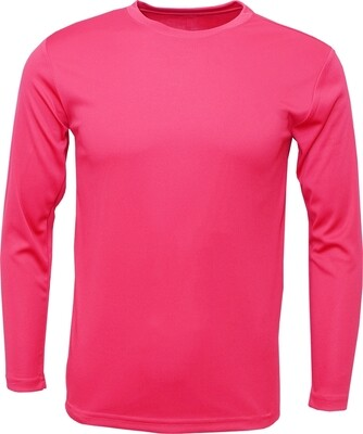 Neon Pink / Front, Back and 2 Sleeves