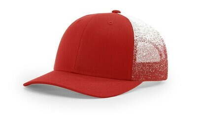 112PM - RED/RED-WHITE FADE