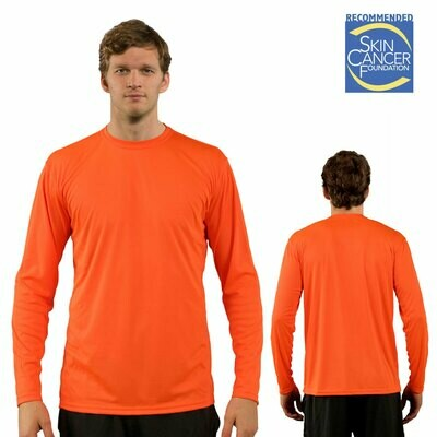 PREMIUM - LONG SLEEVE/ Vapor Apparel Men's UPF 50+ UV Sun Protection Performance T-Shirt for Sports and Outdoor Lifestyle
