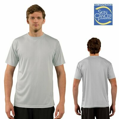 PREMIUM - SHORT SLEEVE / Vapor Apparel Men's UPF 50+ UV Sun Protection Performance T-Shirt for Sports and Outdoor Lifestyle