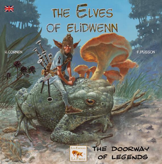The ELVES of ELIDWENN Collection Livre Jeunesse 6/11 ans. Série de 6 titres, bientôt tous traduits. Série Les korrigans d'Elidwenn en langue anglaise.