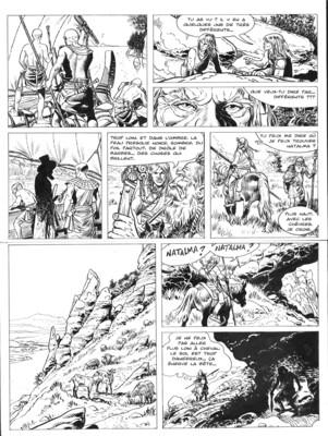 Planche originale N°2 - AKARAD tome 1
