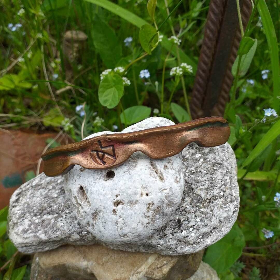 Armspange aus Kupfer
